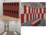 판매를 위한 4개의 층 8 격실에 의하여 사용되는 학교 로커