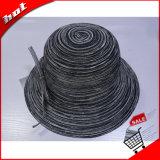 Sombrero de Paja de algodón Sun Mujer Sombrero de Paja de papel