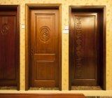 Novo Design Exterior Aberto a porta de segurança em aço