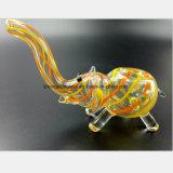 Gelber Elefant-Glaswasser-Rohr für die Rohr-Filter-Wiederverwertung
