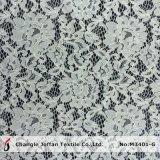 Tissu épais de lacet de lacet de mariage de mode (M3401-G)