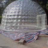Énorme bulle gonflable tente / Inflatable produit tente de voyage avec la lumière