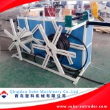PE/PVC Parede Individual / Duplo tubo corrugado linha de máquinas de extrusão de produção