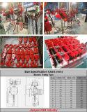 3t G80 Legierungs-Ketten-elektrische Kettenhebevorrichtung mit Anhänger