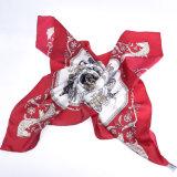 Digital gedruckter Silk Twill-Schal für Dame
