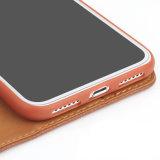 Geval van de Telefoon van het Leer van het Patroon Pu van het litchi het Mobiele voor iPhone X