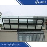 Refugio templado Windows claro vidrio laminado para la construcción