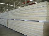 """Panneaux """"sandwich"""" préfabriqués de polyuréthane d'unité centrale de matériau de construction"""
