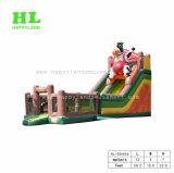 小さい小型膨脹可能子供のためのスライドを乾燥する
