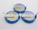 Tasten-Zellen-Batterie Lir2032 des Lithium-3.6V nachladbare
