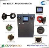 48V100Ah batería de litio de banco de energía