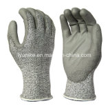 Нейлоновые & Hppe тонкими металлическими резки рабочие перчатки