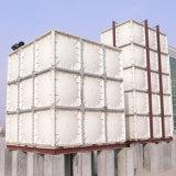 El tanque de almacenaje seccional del agua del panel del tanque en fibras de vidrio SMC