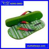 Form PET Dame Footwear Slipper mit Brücke-Dekoration (14A280)