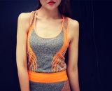 2PCS de la ropa de deportes de las mujeres fija el conjunto de la aptitud