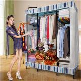 Mobilia portatile dell'armadio del guardaroba di vendita calda DIY grande per la camera da letto