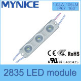1.08W SMD 2835 LED Signage Light Waterproof Injection Modules with Lens