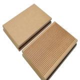 Plancher extérieur du Decking composé en plastique WPC en bois solide