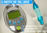 Q-Switched Nd: YAG Laser-Tätowierung-Abbau-System