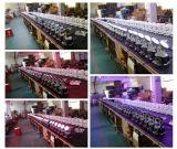 Mini luces de DJ del disco etapa ligera principal móvil In1 de la colada 4 de 7PCS X de 12W RGBW para la venta
