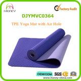 Прочная йога Mat с отверстием для воздуха, Comfortable Sports Mat TPE