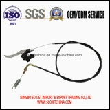 Cable de control Scojet con empuñadura de la primavera para el cortacésped