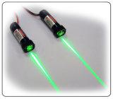 緑および赤いレーザーのモジュールラインおよび点