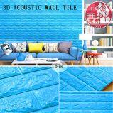 Плитка декоративной собственной личности PVC 3D звукоизоляционной слипчивая для живущий комнаты