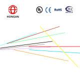 Cable de fibra óptica interior G657A 1 cable de transferencia no metálico de núcleo GJXFH para la comunicación