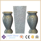 Flor monumento tallado en granito / Florero florero lápida funeraria de