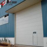 Раздвижная дверь новой конструкции Китая высокая поднимаясь надземная промышленная секционная