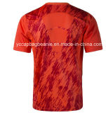 Commerce de gros de polyester à séchage rapide sport Athletic T Shirt
