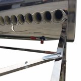 Calentador de agua solar de energía solar no presurizado del tanque de agua caliente del sistema del colector solar del tubo de vacío de la presión inferior