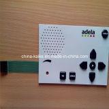 Давление - чувствительная кнопочная панель переключателя мембраны