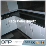 China Polished Furniture Black / White / Yellow Quartz para Topo de Vanity de Banheiro