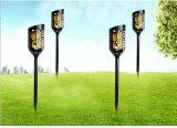 3W de alta calidad paisajística de la luz solar linterna LED de luz de lámpara de fuego