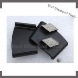 Zacht Segment 3 van de Staaf van de Band Gat of de Polaire Malende Platen van het Trapezoïde van de Diamant voor het Concrete Prep Oppoetsen van de Vloer