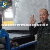 Cadena de producción automática de la bandeja del huevo de la celulosa de la máquina del cartón del huevo de la fábrica de la celulosa