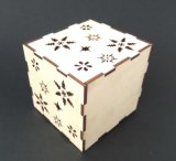 Preço barato Jigsaw de madeira da máquina de estaca da gravura do laser do MDF do tamanho pequeno