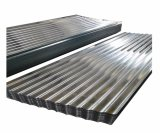 Galvalume prix Feuille de toiture en acier ondulé
