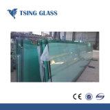 3-19mm tamaños de corte de vidrio templado con bordes pulidos, los agujeros para la Casa Verde/Escaleras y barandillas