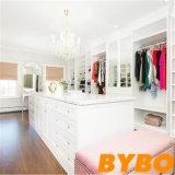 Guardaroba bianco by-W18-07 della camera da letto della lacca di stile semplice moderno all'ingrosso