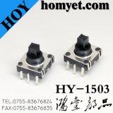 Tato com 10*10*8.6mm pino 6 do Interruptor Multifunção (SMD)