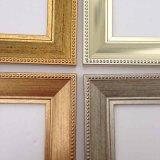 J06041series het Plastic Overladen Decoratieve Afgietsel van het Frame van de Kunst van de Muur van het Beeld voor Beelden, Foto's, Spiegels