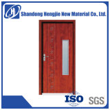 prix d'usine Décoration maison bois plastique Pas de formaldéhyde WPC intérieure de porte