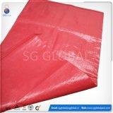 Высокое качество красный полипропиленовый мешок тканый