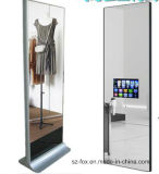 55inch Floor Standing Magical Mirror DIGITAL Signage, Interactive AD Player, Kiosk with Sensor Motion
