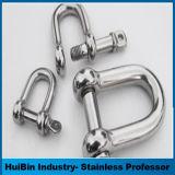 La vente de haut en acier poli arc et de la forme D anse de 4 mm