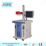 Máquina de la marca del laser de la fibra del metal y del plástico con fuente de laser de Raycus
