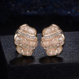 l'oro 18K ha placcato il nuovo insieme della collana dei monili delle signore nuziali di cerimonia nuziale